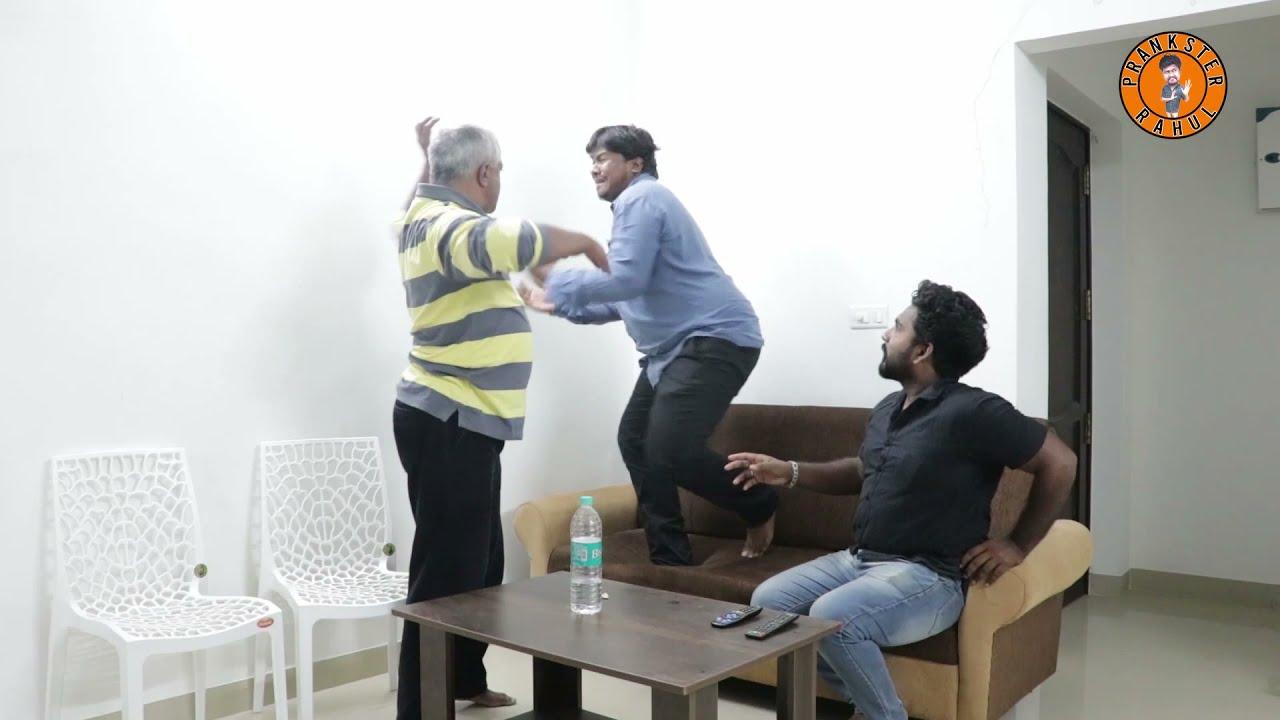 Download Daddy prank   Prankster Rahul   Tamil video   PSR India 2021