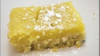 How To Make Lemon Bars - Cookwithapril