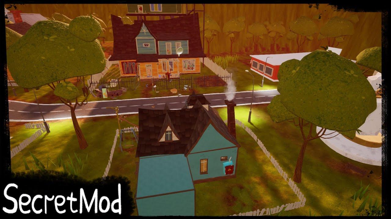 Download HELLO NEIGHBOR MOD KIT - SECRET MOD (PART 1)