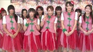 栃木県のローカルアイドル「とちおとめ25」の3枚目のシングル「GYO-ZA P...
