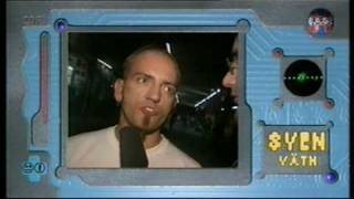 Sven Vaeth interview ZDF X-Base 1994 / Video Harlequin - the Beauty and the Beast