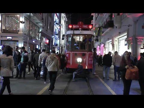 Night walk around Istanbul