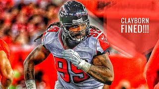 Adrian Clayborn fined for hit on Tom Brady - Atlanta Falcons News