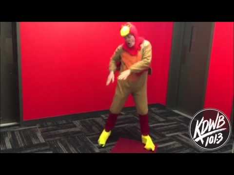 The Dave Ryan Show - Flashback Friday: Watch Dave Dressed as a Turkey do the Gobble Wobble