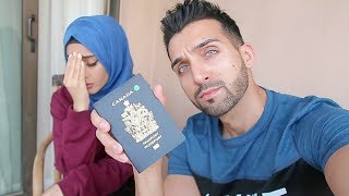 SHE LOST HER PASSPORT