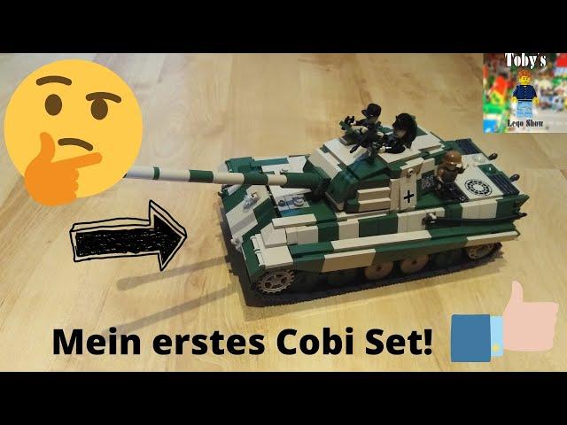 Mein erstes COBI Set! - Cobi 2480A SD.KFZ 182 Königstiger (Tiger II P) - Review