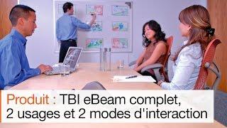 TBI eBeam Complet : le meilleur du tableau interactif compatible avec de vrais feutres