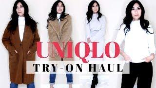 UNIQLO TRY-ON HAUL – Fall Basic Essentials   Alexastylebook