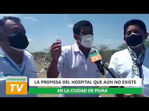 Dirigente médico Víctor Velarde denunció abandono de terreno para hosp.de alta complejidad en Piura