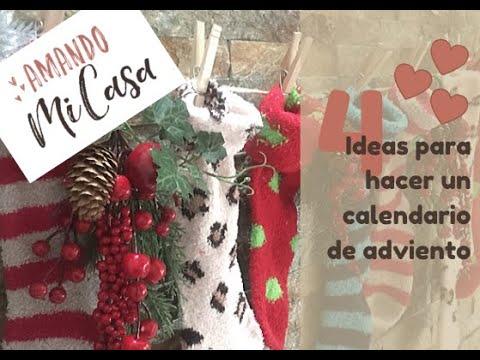 Ideas Para Hacer Un Calendario De Adviento Amandomicasacom