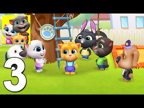My Talking Tom Friends Walkthrough Gameplay Part 3 (iOS, Android)
