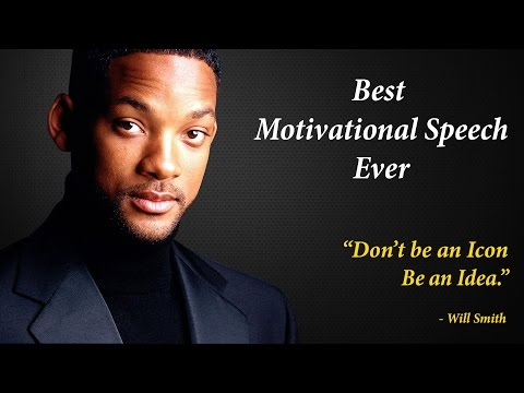 Be An Idea – Will Smith Motivational Speech | Inspirational Video – Will Smith | Motivational Videos