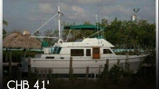 Used 1982 CHB 41 Double Cabin Trawler for sale in Key Largo, Florida