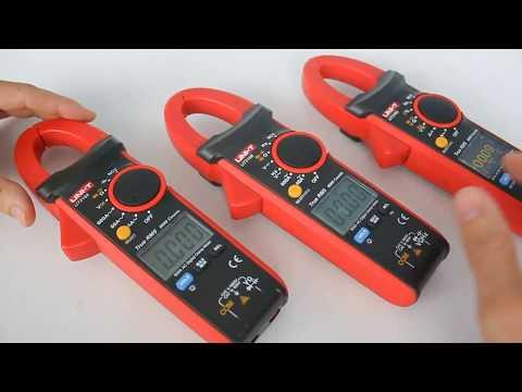 UT216 токовые клещи, обзор моделей A, B, D