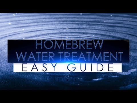 HomeBrew Beer Water Treatment Easy Guide