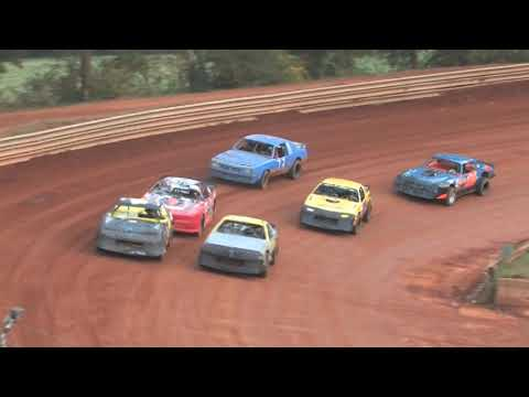 "A LOOK BACK:  Toccoa Speedway ""James Garrison Memorial"" Modified Street Oct 27, 2012"