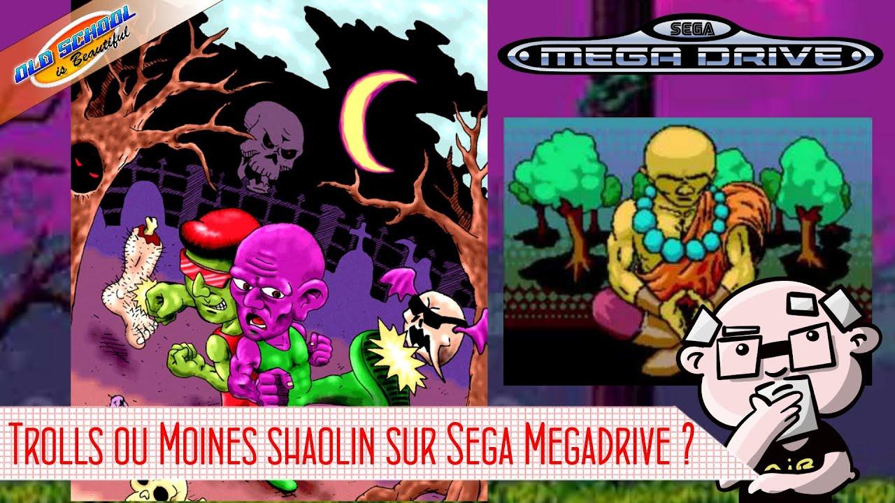 Préférez vous les trolls de Irmãos Aratu ou les moines de Shaolin Carcará sur Megadrive ?