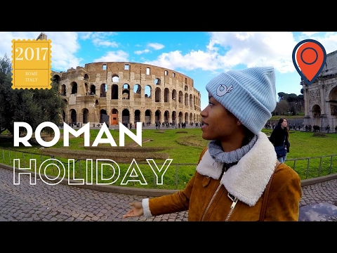 Roman Holiday. Rome in a nutshell: Vatican city, Spanish steps, Coliseum and Fountain de Trevi