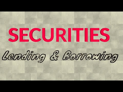 SECURITIES LENDING AND BORROWING - CMSL - CS EXECUTIVE