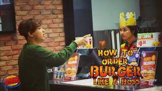 How to order Burgar King like a Boss