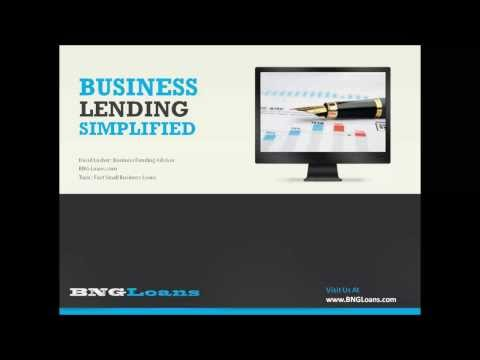 The Secret to Fast Small Business Loans