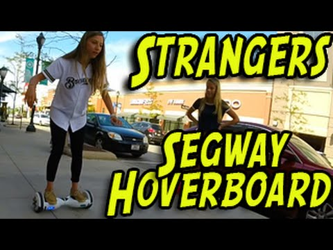 Where To Buy A Hoverboard >> Hoverboard Swegway - Strangers Ride at the Shopping Mall! - YouTube