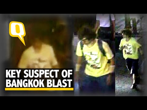 Bangkok Bomb Blast: CCTV Footage Leads to a Key Suspect