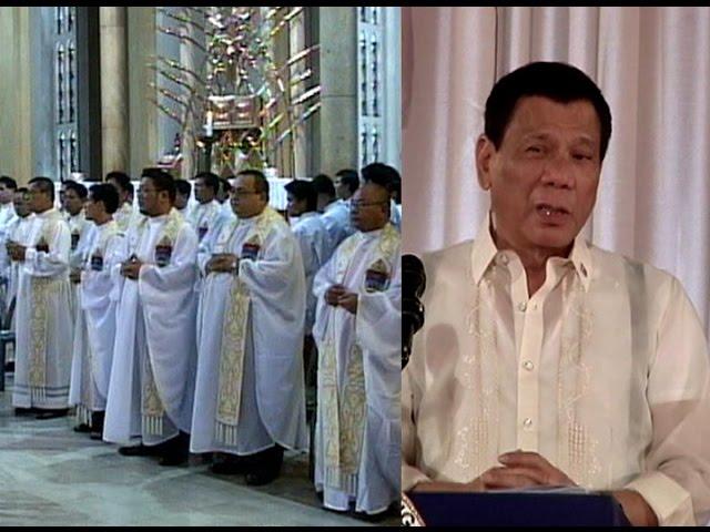Mga kritiko sa anti-drug campaign, muling tinuligsa ni Pres. Duterte