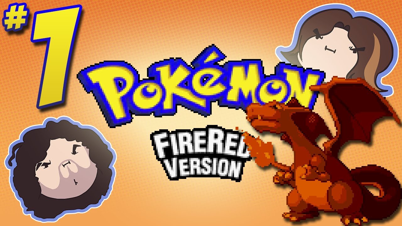 Pokemon FireRed: I Never – PART 1 – Game Grumps