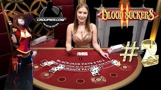 BLACKJACK VIP VS £2,000 PART 2! HIGH STAKES ONLINE SLOTS BLOOD SUCKERS 2 £25 to £50 SPINS!