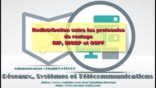 Redistribution entre des protocoles de routage RIP, EIGRP et OSPF (KHALID KATKOUT)
