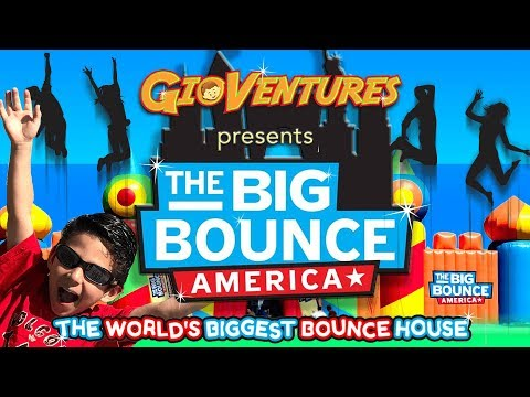 The Big Bounce America  The World's Biggest Bounce House