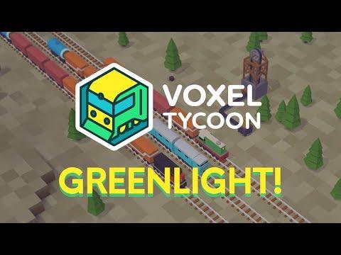 Voxel Tycoon Greenlight Trailer