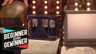 Kugelstoßen: 20 kg Kugel, Wasserkiste oder Fernseher? | Teil 1 | Beginner gegen Gewinner | ProSieben