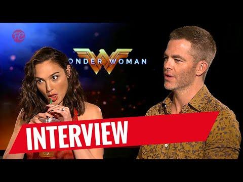 WONDER WOMAN | Interview mit Gal Gadot und Chris Pine