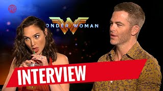 WONDER WOMAN | Interview mit Gal Gadot und Chris Pine