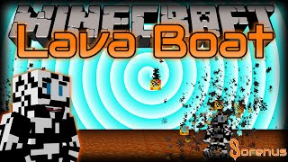 Minecraft | LAVA BOAT MOD | Sorenus Mods 194