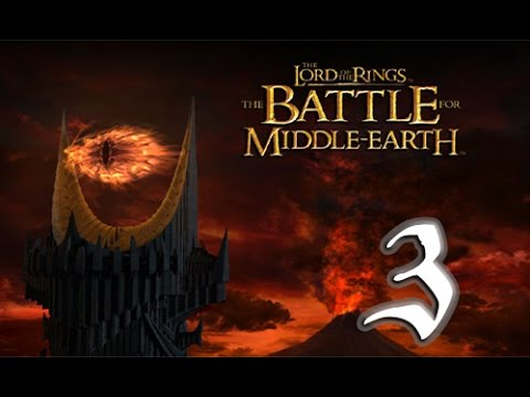 The Battle for Middle-Earth Good Campaign Walkthrough HD - Lothlórien - Part 3 [Hard]