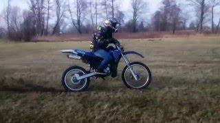Yamaha DT 170 Athena on the fields