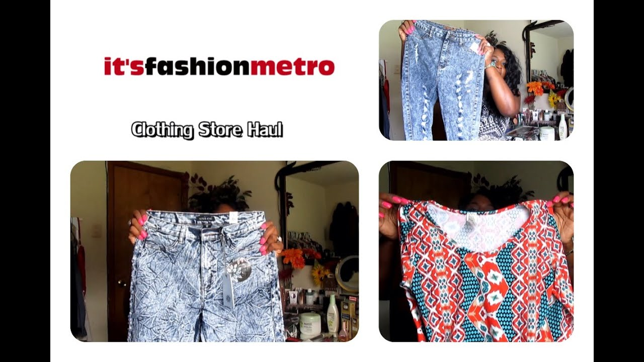 It s Fashion Metro   Clothing Store Haul   YouTube