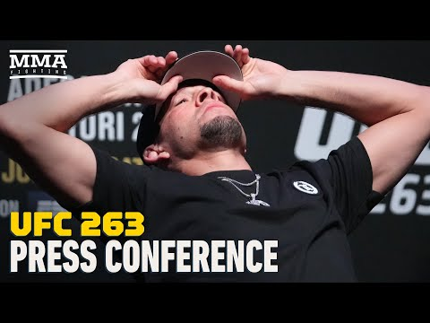 Full UFC 263 Press Conference Feat. Israel Adesanya vs. Marvin Vettori, Nate Diaz - MMA Fighting