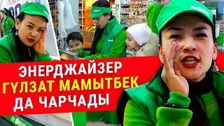 """""""Подходи, народ, свой огород"""" : Гүлзат Мамытбек балдары менен чарчаганча иштеди"""