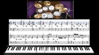 Уроки игры на фортепиано - (Джаз) Jazz swing#1