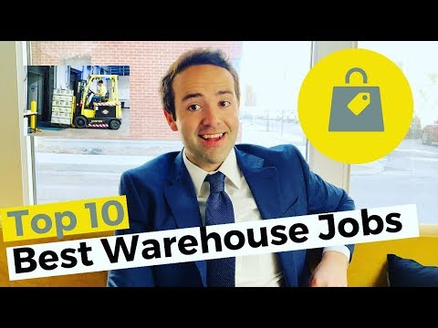 Top 10 Best Warehouse Jobs