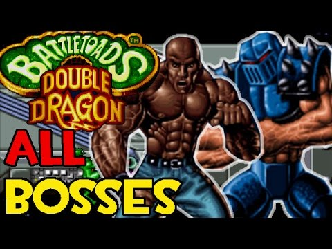 (SNES) Battletoads & Double Dragon: The Ultimate Team - All Boss Fights + Ending
