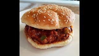 How to make a Manwich Sloppy Joe Sandwich - 99 CENTS ONLY store meal deal RECIPE