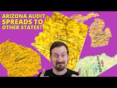 Maricopa County Audit Company Backs Out, but Audit is Spreading to Other States?