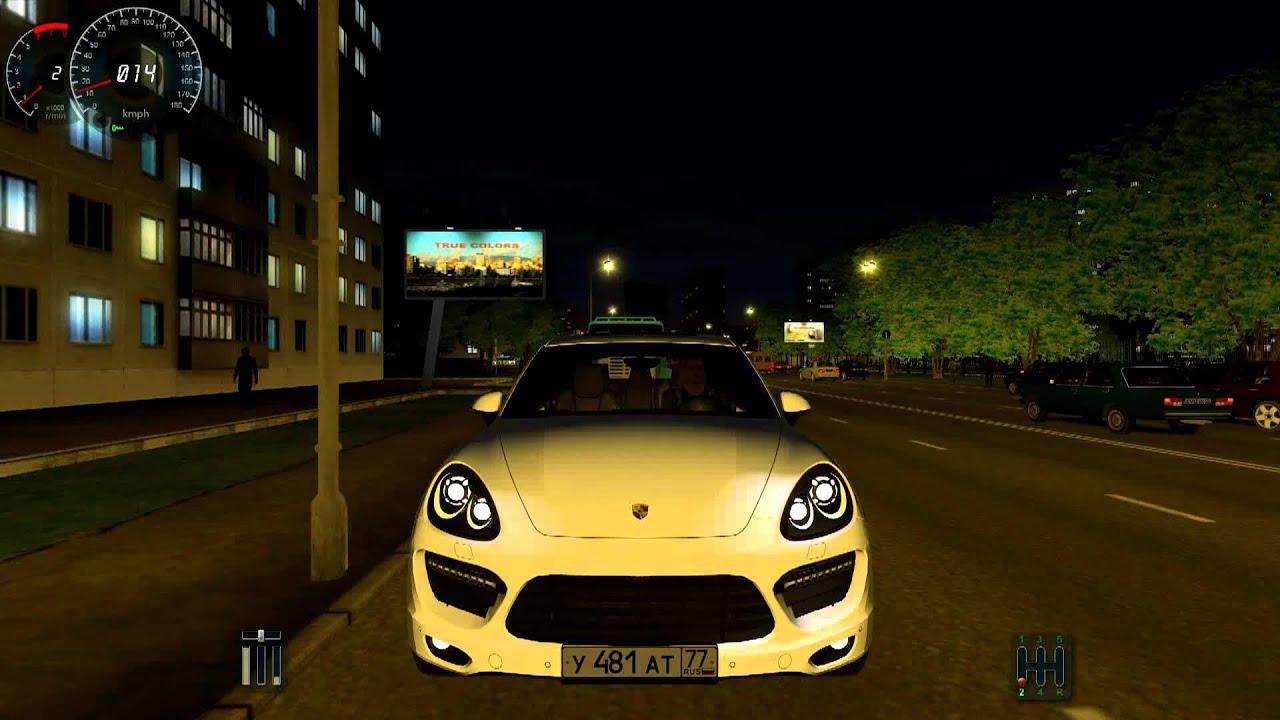 City Car Driving Porsche Cayenne Turbo Police Version