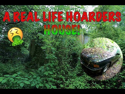 ABANDONED HORROR HOUSE (a real life hoarders house) real grime!