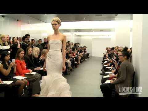 Vera Wang Bridal Autumn/Winter 2013-14 - Videofashion